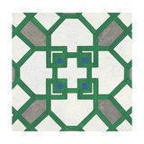 Lattice Emerald Posters by Tom Grijalva