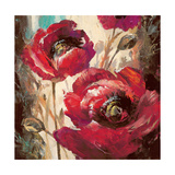 Dramatic Poppy Posters af Brent Heighton