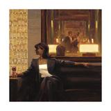 Amber Glow 2 Premium giclée print van Brent Lynch