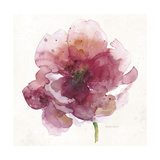 Watery Red Bloom 2 Giclee Print by Sandra Smith