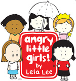 Angry Little Girls Group Lifesize Standup Cardboard Cutouts
