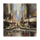 City Impression Poster by Brent Heighton