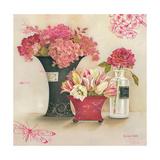 Bouquets luxueux Reproduction procédé giclée par Kathryn White