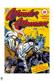 Wonder Woman: No. 1 Wonder Woman - Riding a Horse into Battle Prints
