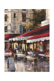 Avenue Des Champs-Elysees 2 Giclee Print by Brent Heighton