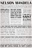 Nelson Mandela - Quotes Print