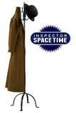 Inspector Spacetime Hat and Coat Prints