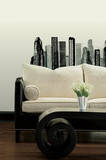 Cityscape Peel & Stick Giant Wall Decal Wall Decal