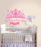 Princess Sleeps Here Peel & Stick Giant Wall Decal w/PZ Wall Decal