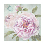 Peony Shimmer Giclee Print by Stefania Ferri