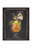 Heritage Pear Poster von Chad Barrett