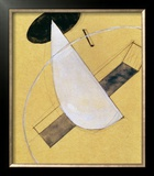 Proun 18, 1919-20 Framed Giclee Print by El Lissitzky