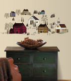 Country Scenic Peel & Stick Wall Decals Vinilo decorativo