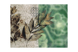 Emerald Nature 2 Prints by Matina Theodosiou