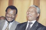 Nelson Mandela Photographic Print by Joao Silva