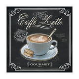 Coffee House Caffe Latte Giclee Print by Chad Barrett