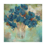 Contemporary Blooms 1 Giclee Print by Sandra Smith