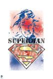 Superman: Superman Stencil Art Posters