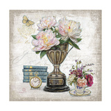 Vintage Estate Florals 2 Print by Chad Barrett
