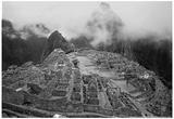 Machu Pichu Peru B/W Posters