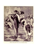1910s UK Large Dogs Book Plate Giclee Print