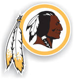 NFL Washington Redskins Vinyl Magnet Magnet
