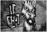 Le Chat Graffiti Posters