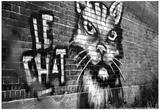 Le Chat Graffiti Posters