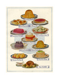 1920s UK Food Magazine Plate Giclee Print