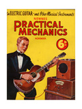 1930s UK Practical Mechanics Magazine Cover Posters