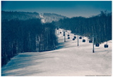 Ski Lifts and Ski Slopes Prints