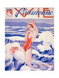 1930s France La Vie Parisienne Magazine Cover Giclee Print