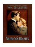 1900s UK Sherlock Holmes Poster Photo