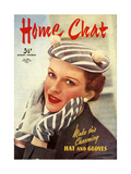 1950s UK Home Chat Magazine Cover Giclee Print