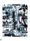 Batman: Batman Spray Paint and Graffiti Style Pattern Poster