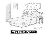 """It would kill him to run a vacuum?"" - New Yorker Cartoon Premium Giclee Print by Danny Shanahan"
