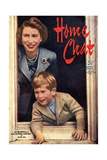 1950s UK Home Chat Magazine Cover Giclée-tryk