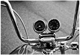 Harley Davidson Handlebars Poster