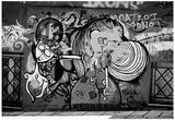 Graffiti in Athens Greece Photo