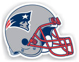 NFL New England Patriots Vinyl Magnet Magnet