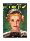 1930s USA Picture Play Magazine Cover Giclee Print