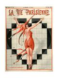 1920s France La Vie Parisienne Magazine Cover Prints