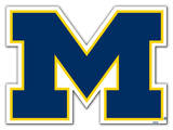 NCAA Michigan Wolverines Vinyl Magnet Magnet
