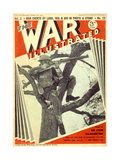 1940s UK The War Illustrated Magazine Cover Giclee Print