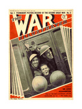 1930s UK The War Illustrated Magazine Cover Giclee Print