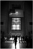 American Flag in Grand Central Station Kunstdrucke