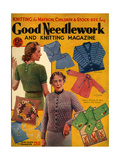 1930s UK Good Needlework and Knitting Magazine Cover Photo