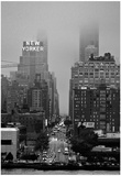 42nd Street New York City on Rainy Day Posters