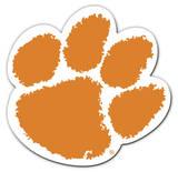 NCAA Clemson Tigers Vinyl Magnet Magnet