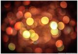 Red and Orange Lights Photo